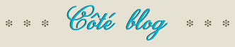 Côté blog