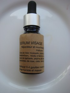 serum huileux peaux matures